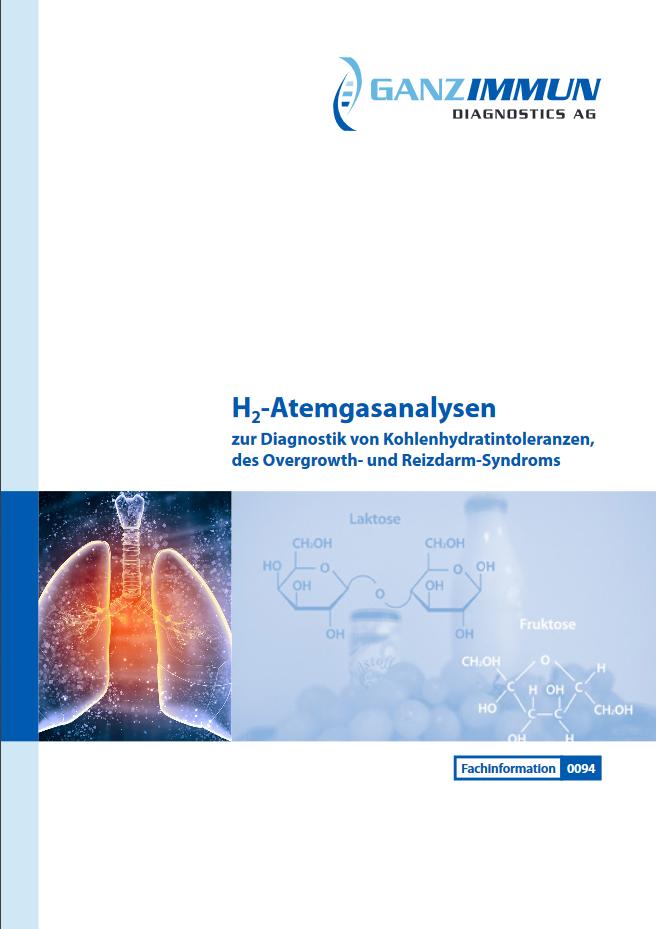 Fachinformation Ganzimmun H2-Atemgasanalysen